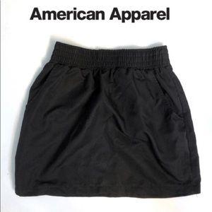 American Apparel Polyester Skirt